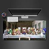 Mausunterlage kühle Mausunterlage Maus kühle Spielcomputer- Mausunterlage Spielspieler- Laptop-Tastatur-Mausunterlage 700x300x2