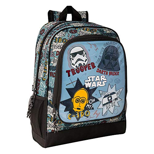 Star Wars  Astro : Mochila Safta Escolar  320x140x420mm