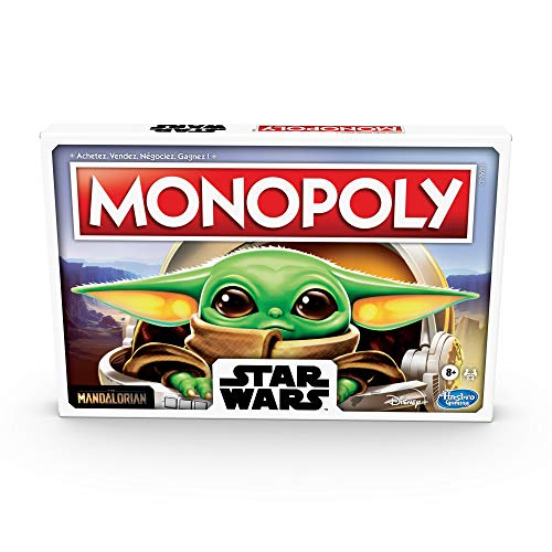 Monopoly Star Wars l'enfant The Child - Jeu de Societe - Jeu de Plateau - Version française