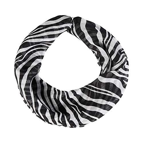 Unbekannt Magnet-Halstuch Zebra