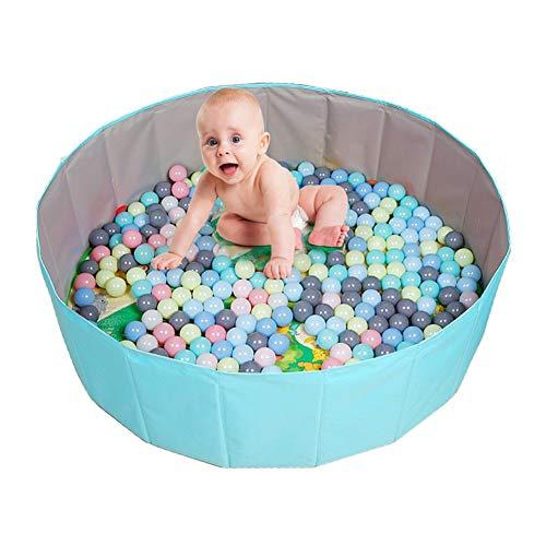 ZJMK Corralito Carpa Plegable Ocean Ball Pit Pool con Pelotas y Tapete para Gatear, Salas de Juegos Interiores para Niños Pequeños Baby Ocean Ball Pit Baby Parque Infantil