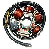 one by Camamoto cod. 77199050 statore magnete volano compatibile con Vespa 125 Primavera ET3 elettronica 6 poli