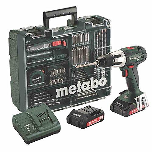 Metabo - Perceuse visseuse à percussion 18V avec coffret de 79 accessoires - SB 18 LT