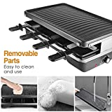 Zoom IMG-1 aoni electric raclette grill smokeless