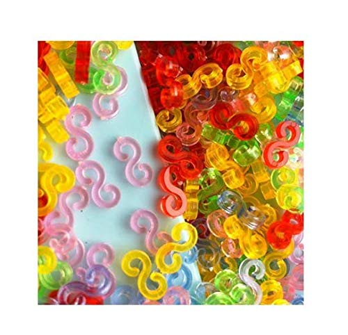 DDGE DMMS BZ0018 Loom Band Verpackung 125 Farben S Clip
