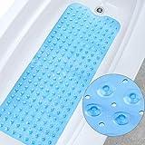 Alfombrilla de Ducha Rectangular para bañera 100 * 40 cm Antideslizante y...