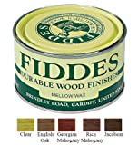 Fiddes Mellow Wax Furniture Polish 400ml - Dark Brown (English Oak) by Fiddes