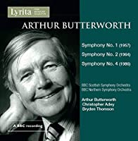Arthur Butterworth: Symphony No. 1, 2 & 4
