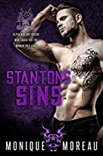 Stanton's Sins: A Bad Boy Biker Billionaire Romance (The Demon Squad MC Book 4)