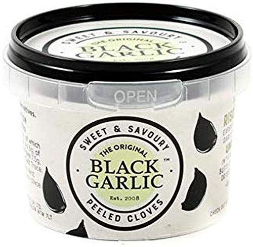 The Original Black Garlic Sweet & Savoury Peeled Cloves 50g (Pack of 3)