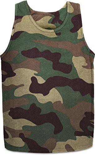 US Fitness Herren Tank-Top Farbe Woodland Größe XXL