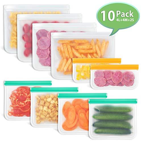 Godmorn Bolsas Reutilizables Almacenamiento Alimentos,Biodegradables