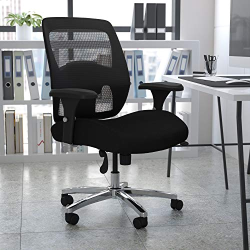 Flash Furniture HERCULES Series Big & Tall Executive Ergonomic Office Chair with Ratchet Back