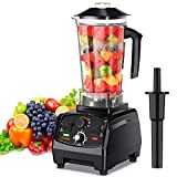COLZER Professional Countertop Blender with 2200-Watt Base, Smoothie Blender ,Built-in Timer ,High...