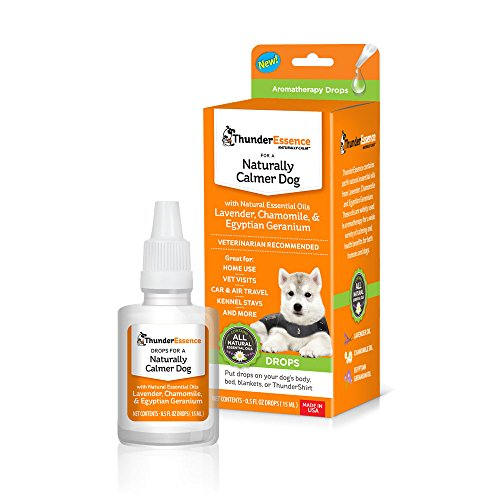 ThunderEssence Dog Calming Essential Oils | All-Natural Lavender,...