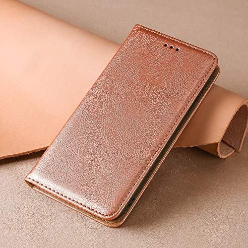 BellaHülle Oppo A53 2020 Handyhülle Hülle Flip Hülle [Kartenfach] [Standfunktion] [PU Leder] Wallet Cover für Oppo A53 2020 Smartphone(Rosa)