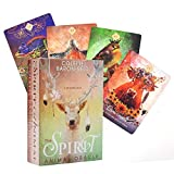 Spirit Animal Oracle: 68 Das Orakel der Krafttiere Magische Karten mit Anleitungsbuch Karten Tarotkarten Kartenspiele Karten für Lebensziele, Kommunikation, Beziehungen, Neuanfänge, Gesundheit, Liebe