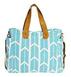 Arrows Weekender Bag by White Elm - Large Diaper Tote Bag