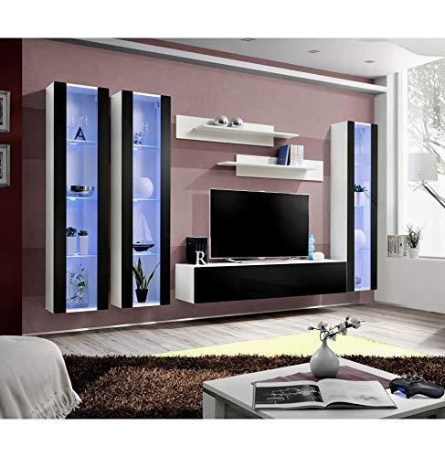 ASM Ensemble TV - 2 éléments - Blanc