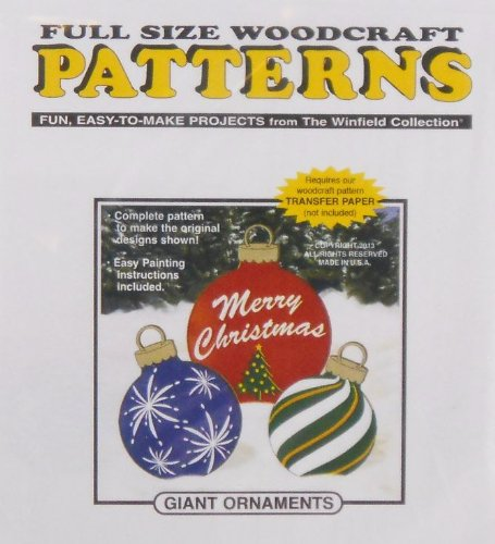 Giant Ornaments Woodcraft Pattern
