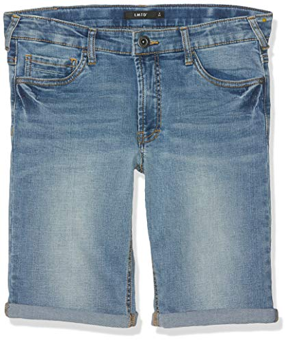 Name IT NOS Jungen Shorts NLMSHAUN DNMTATHAN 1164 Long NOOS, Blau (Light Blue Denim), (Herstellergröße: 152)