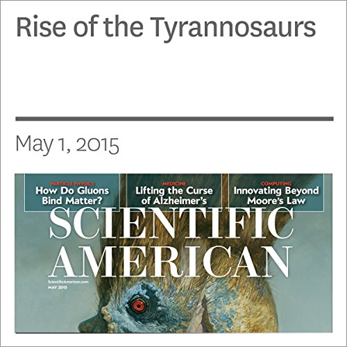 Rise of the Tyrannosaurs audiobook cover art