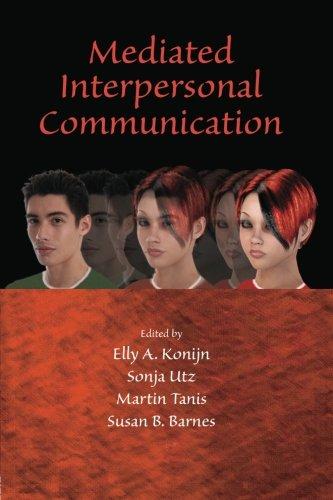 Mediated Interpersonal Communication (Lea's Communication (Paperback))