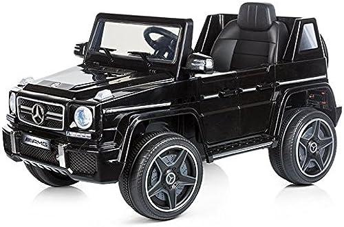 precios mas bajos Coche eléctrico eléctrico eléctrico teledirigido padres SUV Mercedes Benz G63 AMG negro  promociones de descuento