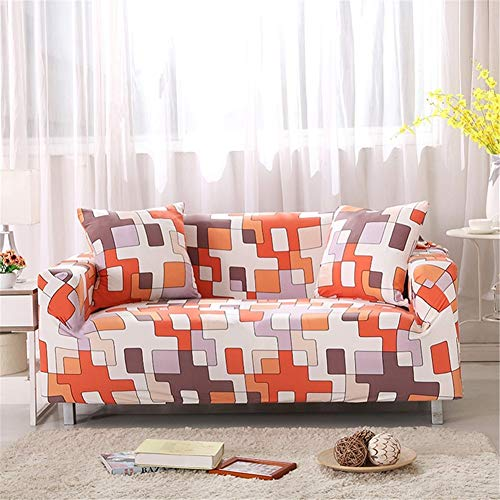 QBFT Lounge Universele bankovertrek, rekbaar, afneembaar, gewatteerd, sofa, hoekbank, met armleuningen, 1 stuk