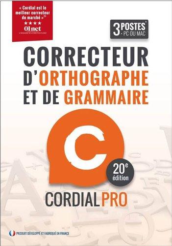 Cordial 20 Pro [Téléchargement]