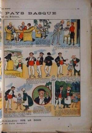 SEMAINE DE SUZETTE (LA) [No 13] du 30/04/1925 - LE PORTE-BONHEUR - PAYS BASQUE ET BECASSINE.