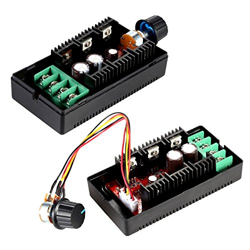 Kecheer DC motor snelheidsregelaar instelbaar 10-50 V/40 A/2000W DC Motor Speed Control PWM HHO RC Controller 12V 24V 36V 40V 50V snelheid instelbare