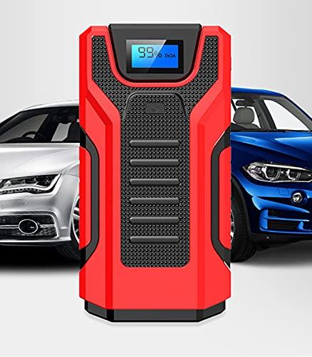 Portátil del automóvil Starter Power Power Bank Cargador de batería Auto Motor Booster para cortacésped, Motocicleta, Bote, SUV y más