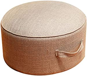 Takefuns Sponge Seat Cushion,Tatami Floor Pillow Sitting Cushion,Foot Stool,Wave Window Pad,Round Pad Room Floor Mat for Living Room Balcony