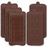 Cozihom - Stampi per cioccolatini in silicone per uso alimentare, motivo: Engery Bar, Cocao Bar, Candy Protein Mold, 5 pezzi