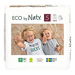 Best Pull Up Diapers - Eco by Naty Premium Pull On Pants for Sensitive Skin