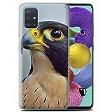 Stuff4 Phone Case for Samsung Galaxy A51 2020 Birds of Prey