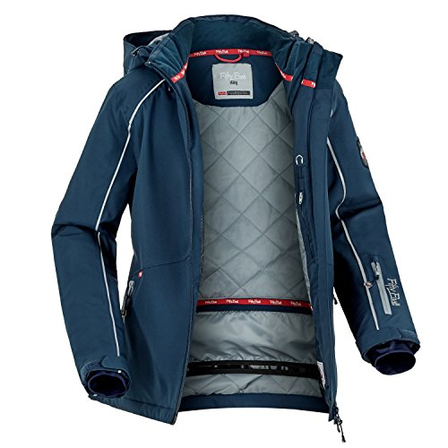 Fifty Five Damen Skijacke Snowboardjacke Saint Marys, Blau (Nightblue 002), 38