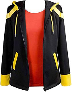 Anime Messenger Saeyoung Choi Cosplay Black Casual School Jacket Coat Outfit