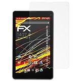 atFolix Schutzfolie kompatibel mit Medion LIFETAB P8513 MD60175 Bildschirmschutzfolie, HD-Entspiegelung FX Folie (2X)