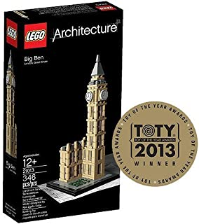 LEGO Architecture UK Big Ben Play Set