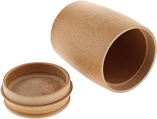 F Fityle 茶缶 茶筒 茶コンテナー 保存容器 防湿保存缶 コーヒー貯蔵 キッチン用品 茶の葉 砂糖 香料 全7サイズ - 約9.5×12.5cm / 3.74×4.92インチ