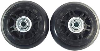 comprar comparacion Juego de 2 ruedas de recambio para maletas, y llaves de reparación, diámetro exterior 68mm