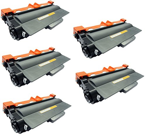 2 Compatibles TN3380 Cartuchos de tóner para Brother HL-5440 HL-5440D HL-5450 HL-5450D HL-5450DN HL-5450DNT HL-5470 HL-5470DW HL-5480 HL-5480DW HL-6180 HL-6180DW HL-6180DWT - Negro, Alta Capacidad