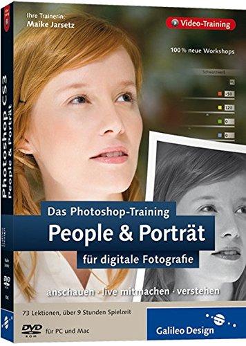 Das Photoshop-Training für digitale Fotografie: People & Porträt. Aktuell zu Photoshop CS3 [import allemand]