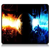 Anime Naruto Gaming Mouse Pad Stitched Edges Waterproof Mousepad Pixel-Perfect Mouse Mat 9.8X11.8X0.12 Inch [並行輸入品]