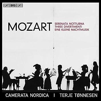 Mozart: Serenata notturna, 3 Divertimenti & Eine kleine Nachtmusik