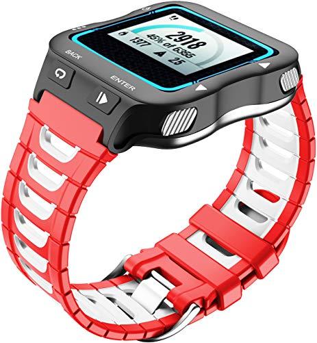 Shieranlee Kompatibel mit Garmin Forerunner 920XT Armband, Silikon Fitnesstracker Sportarmband Band Kompatibel mit Forerunner 920XT - Fitness Tracker Band with Clasp