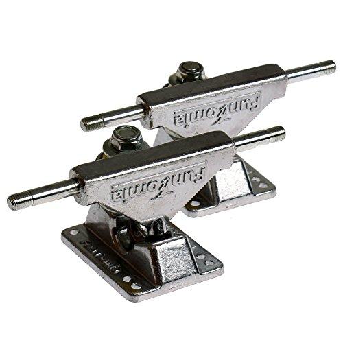 FunTomia 2 Stück Aluminium Miniboard Achsen/Achsstiftbreite: 150mm / Hängerbreite: 80mm