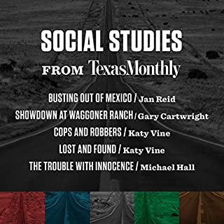Social Studies from Texas Monthly audiobook cover art